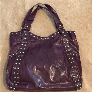 Urban Expressions Vegan Purse Dark Purple
